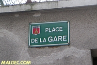 Gare de Fontaines-sur-Saône CFR maldec.com