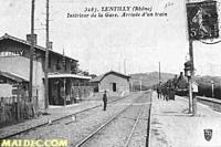Gare de Lentilly DSE maldec.com